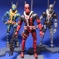 Marvel Universe Comic Superhero X-Men Deadpool Action Figure Kids Toy Gift Loose