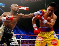 Boxing Canvas Print Framed Photo Picture Wall Artwork WA Floyd Mayweather Jr
