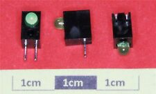 Liteon LTL-4231NHBP Single Green PCB Mount Rt/angle LED Indicator (Pk of 5)