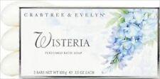 Crabtree Evelyn CLASSIC Wisteria Perfumed Bath Soap RARE ! NIB