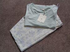 M&S La Maison De Senteurs Green/Cream Mix Ladies Nightwear Pyjamas Size 10 New