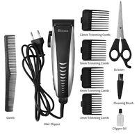 Surker Electric Hair Trimmer Men Kids Adjustable Hair Cutting Machine Clipper