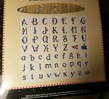 MARY ENGELBREIT 55 Clear Scrapbooking Stamps Alphabet Perfect Positioning