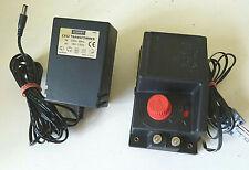Hornby R965 train controller + C912 transformer + R602 power clip, all EXC