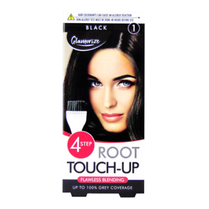 Glamorize Root Touch Up (hair dye) - shade 1 - black