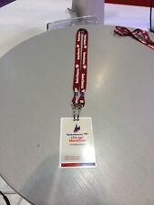2014 Bank of America Chicago Marathon Lanyard Staff Badge