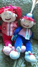 ROBO EDUCATIONAL PUPPETS BOY GIRL GREAT CONDITION