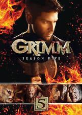 Grimm Season 5 (DVD, 2016, 5-Disc Set) NEW