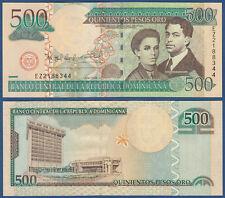 República dominicana en/Kildare Rep. 500 pesos oro 2006 UNC p.179 a