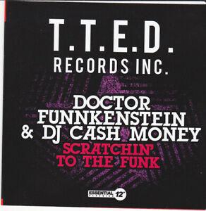 Doctor Funnkenstein & DJ Cash Money – Scratchin' To The Funk PT1 & 2 CD