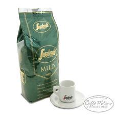 Segafredo mild grün, 1000g ganze Bohne mit Espresso Tasse - Caffe Milano