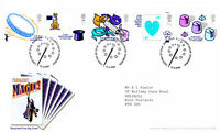 15 MARCH 2005 MAGIC CENTENARY ROYAL MAIL FIRST DAY COVER BUREAU SHS