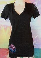 Sinful Junior Women's Black's T-Shirt Size Small Made U.S.A.