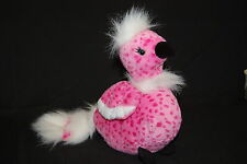 Cherry Blossom Webkinz Ganz Pink Bird White  Plush Stuffed Animal Lovey Toy