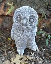 "Latex owl mold with plastic backup plaster concrete mold 5""H x 3""W"