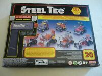 Steel Tec Motorized Construction Set by Remco Toys USA, 1992, never used