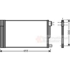 Kondensator Klimaanlage - van Wezel 17005314