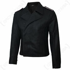 German Army WW2 WWII ELITE SS PANZER WRAP Black Repro Uniform Tunic Jacket Sz S