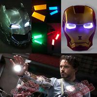 1X LED Light Eyes/Hand Light for Ironman/ Batman/Killmonger Helm Helmet DIY Eyes
