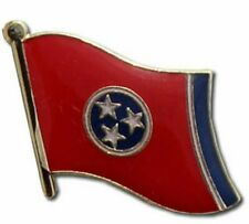 State of Tennessee TN Flag Bike Motorcycle Hat Cap lapel Pin