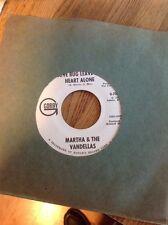 PROMO Martha & the Vandellas Love Bug Leave My Heart Alone 1967 45rpm