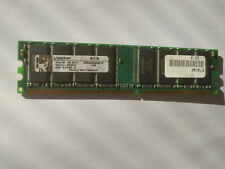 1 GB DDR 400 MHz PC3200 Kingston DIMM Memoria RAM 184-pin KVR400X64C3A/1G