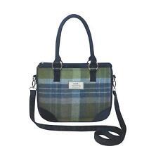 Earth Squared - Saskia Bag - Handbag-Tweed Wool-Coastal Blue Marina-25x30x6cm