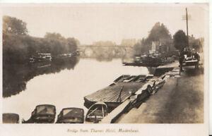 Berkshire Postcard - Bridge from Thames Hotel - Maidenhead - RP - Ref TZ6168