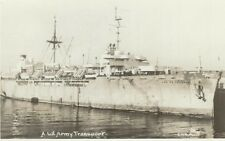 CD-441 US Army Transport Gen H.B. Freeman Real Photo Postcard RPPC Smith Photo