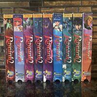Magic Knight Rayearth Lot of 9 VHS Tapes Anime Manga Set English Language