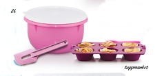 TUPPERWARE That's a BOL MÉLANGE & MAGASIN BOL 2L+spatule+Silicone muffins offre
