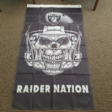 Raider Nation Flag Banner New Man Cave 3x5 Ft