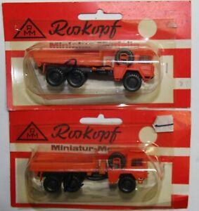 RMM Roskopf zwei Miniatur-Modelle LKWs in OVP