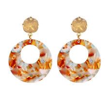 2018 Fashion Drop Earrings for Women Vintage Big Round Pendants Statement Dangle