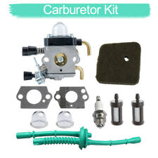 Carburateur pour STIHL FS38 FS45 FS46 FS55 KM55 Air Filtre Carburant Carb Joints