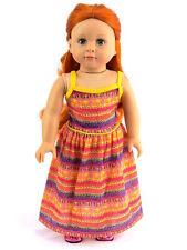 """18"""" Doll Tribal Print Maxi Dress fits American Girl Doll Tribal Print Maxi Dress"""