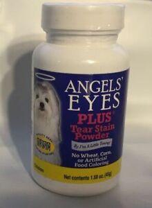 Angels Eyes Plus tear stain powder Dog or Cat Eye 1.59 oz chicken Made in USA