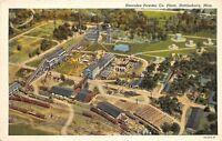 D91/ Hattiesburg Mississippi Postcard Linen Hercules Powder Company Factory