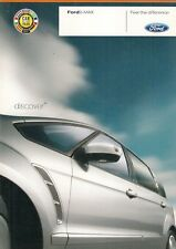 Ford S-Max 2006-07 UK Market sales brochure Titane Zetec LX