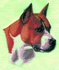 Embroidered Sweatshirt - American Staffordshire Terrier Bt2627 Sizes S - Xxl