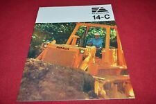 Fiat Allis Chalmers 14-C Crawler Tractor Dealer's Brochure YABE18