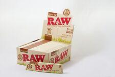 Full Box (50) RAW Organic Hemp  King Size Slim Natural Unrefined Rolling Papers