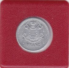 1 franc Monaco 1945 aluminium prince Louis II