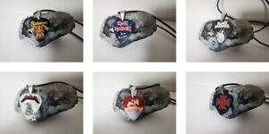 Handmade Guitar Pick Necklace,Pendant Gift For Him / Her gothic metal rock Music