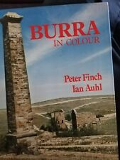 Peter / Ian Finch & Auhl  BURRA IN COLOUR  1st Ed. HC Book