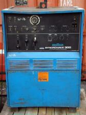 Miller Syncrowave 300 Acdc Tungsten Arc Welding Power Source 230460v 1 Phase