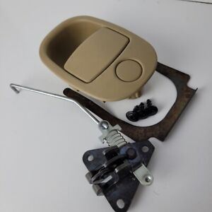 2006 2008 Chevy Equinox Glove Box Handle Latch Tan with Screws Clip