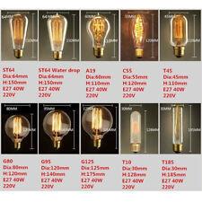 Vintage Antique Style Bulbs Edison Industrial Filament Light Bulb E27 Sales