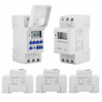 Timer Switch AC 12V/24V/110V THC15A Digital LCD Weekly Programmable Time Relay