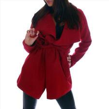 Kurzmantel Damenjacken & -mäntel aus Polyester ohne Verschluss